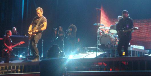 Bruce Springsteen y Steve Van Zandt
