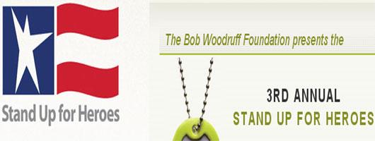 Concierto benefico para la fundacion Bob Woodruff
