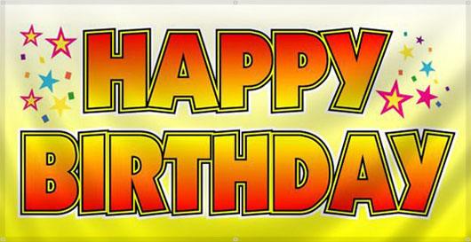 Hoy dia 23 el jefe cumple 61 años: Feliz Cumpleaños!